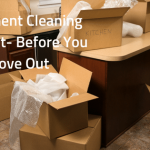 Apartment Cleaning Checklist- Before You Move Out