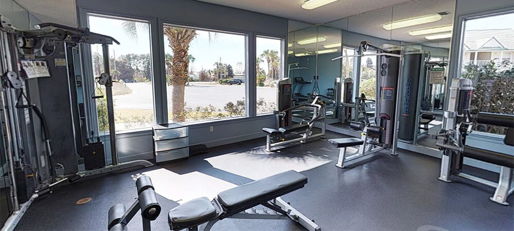 Exercise Room Wide View