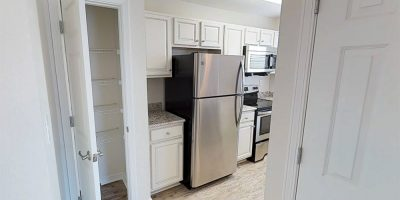Kitchen Entry and pantry closet